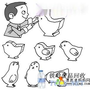 废物利用:制作海绵小鸡