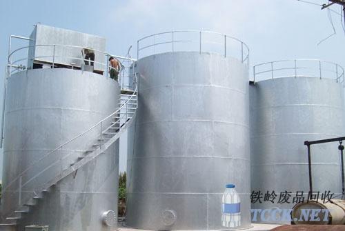 储油罐表面处理